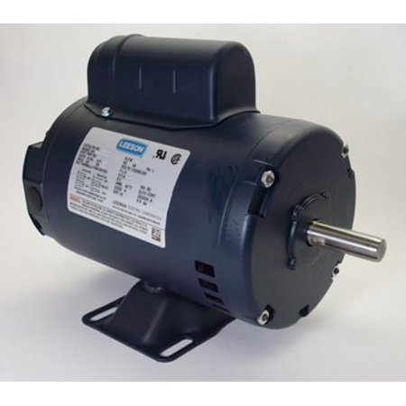 1 Hp Electric Motor Frame (1 hp 3450 RPM 56 Frame 115/208-230V Open Drip Leeson Electric Motor #)