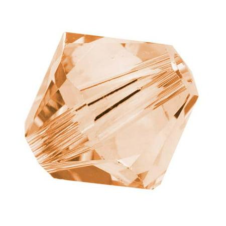 Swarovski Silk - Swarovski Crystal, #5328 Bicone Beads 4mm, 24 Pieces, Silk