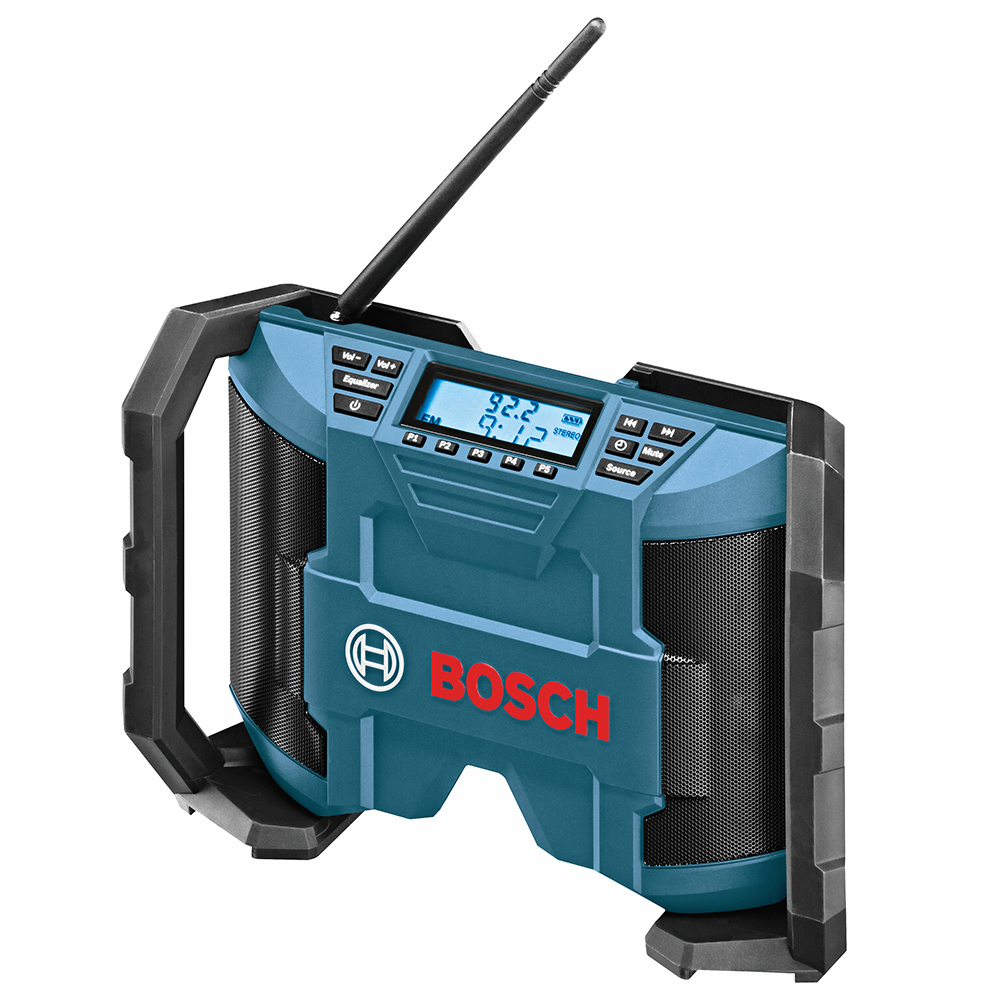 Bosch PB120-RT 12-Volt 2 x 5 Watt Max Ultra-Thin AC/DC Radio  - Reconditioned