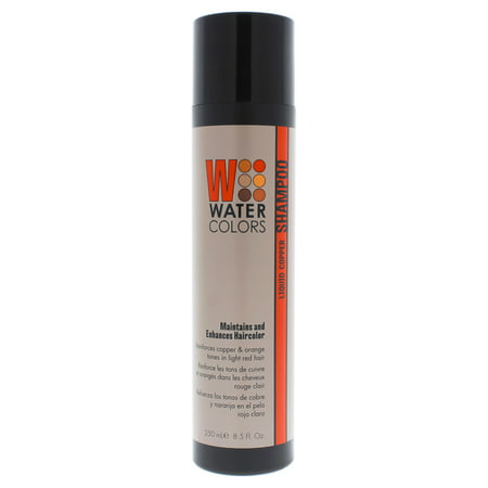 Tressa Watercolors Maintenance Shampoo - Liquid Copper - 8.5 oz Shampoo
