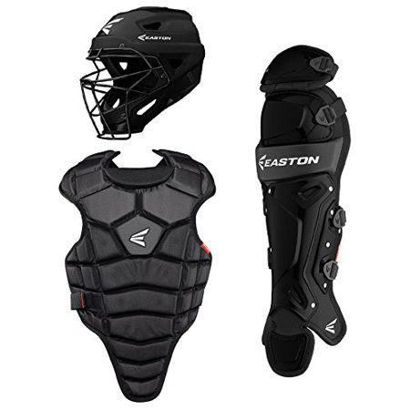 New Easton M5 Qwikfit Junior Youth Baseball Catchers Kit Complete Set Black