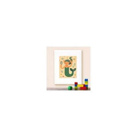 Petit Collage Mermaid Decorative Plaque for $<!---->