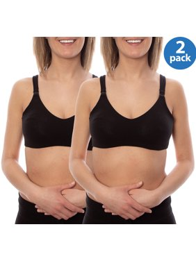 Wynette by Valmont Maternity to Nursing Soft-Cup Bra 2 Pack, Style 86709