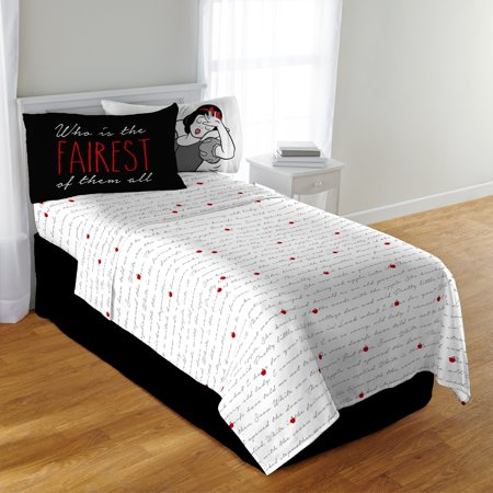 snow white diamond mine bedding sheet set twin. Black Bedroom Furniture Sets. Home Design Ideas