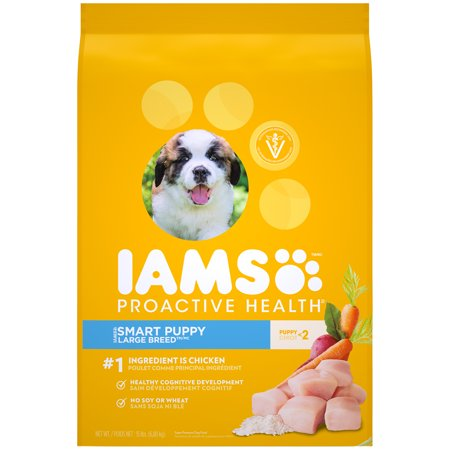 IAMS PROACTIVE HEALTH Smart Puppy Large Breed Dry Puppy Food 15 Pounds