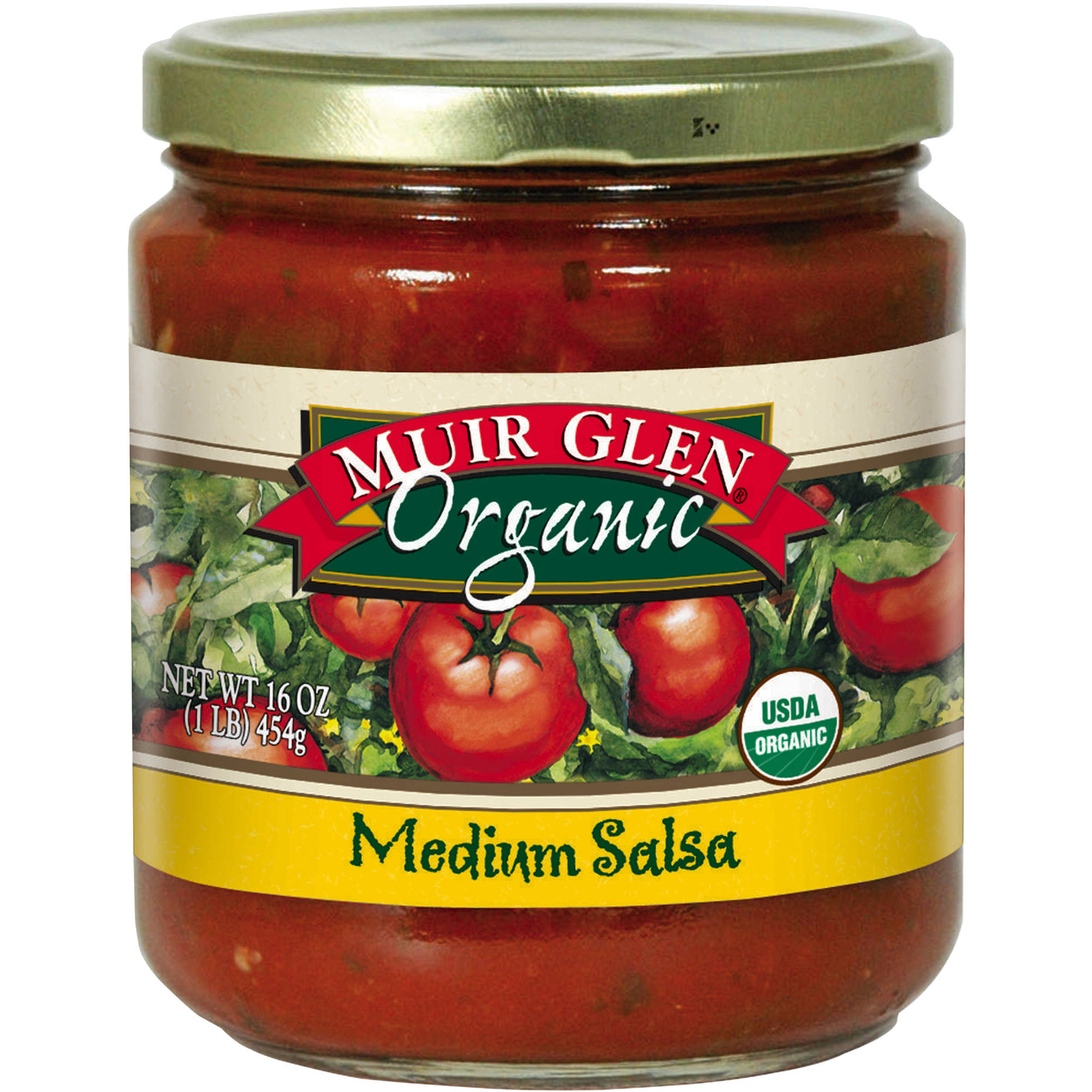 Muir Glen Organic: Medium Salsa, 16 Oz