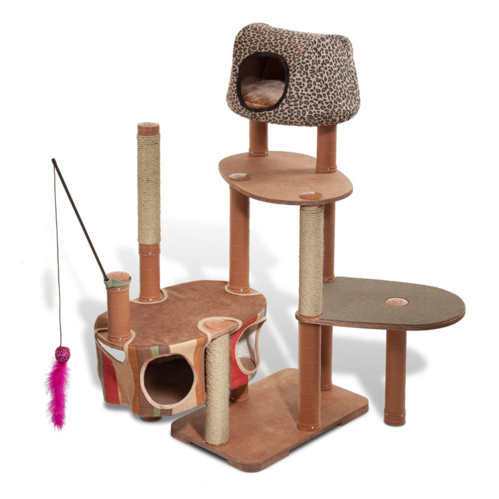 Kittyscape Cat Tree Play Structures Deluxe Playscape Kit