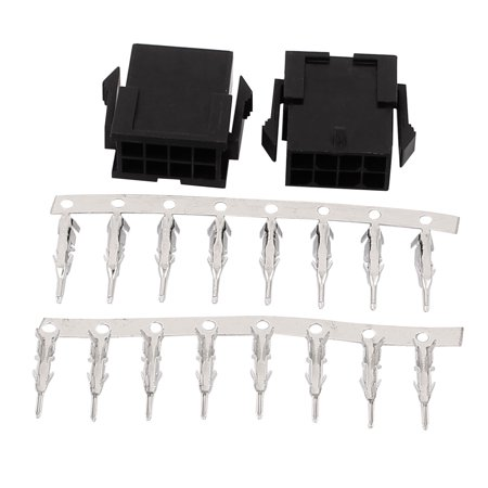20 Sets 3.0mm 8P Plastic JST SM Female Housing Crimp Terminal Connector - image 1 of 2