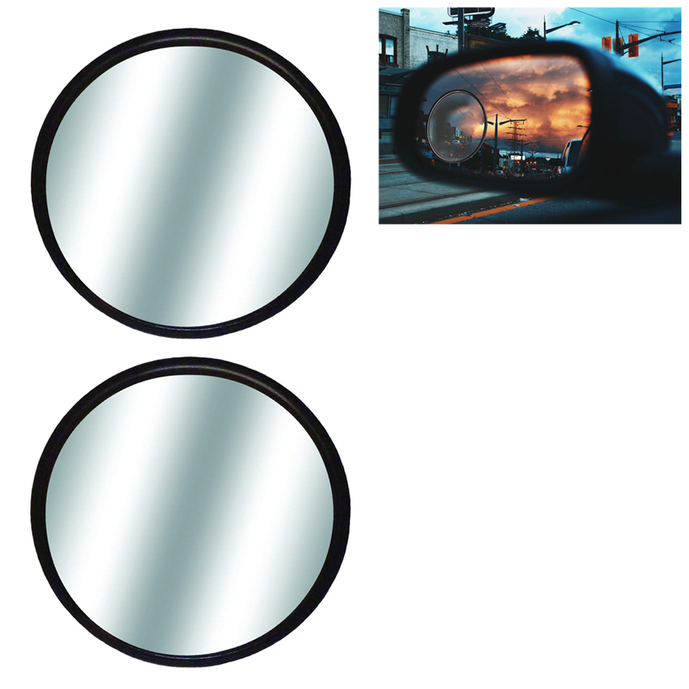 6 CAR Blind SPOT Mirrors Convex Glass for SUV Motorcycle Truck Snowmobiles 2 Stick ON Wholesale Bulk LOT