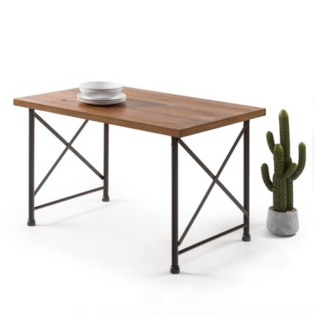 Zinus Alicia Industrial Style Dining Table ()