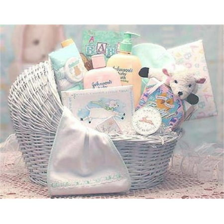 Gift Basket 89062-P Welcome Baby Baby Bassinet - Pink,
