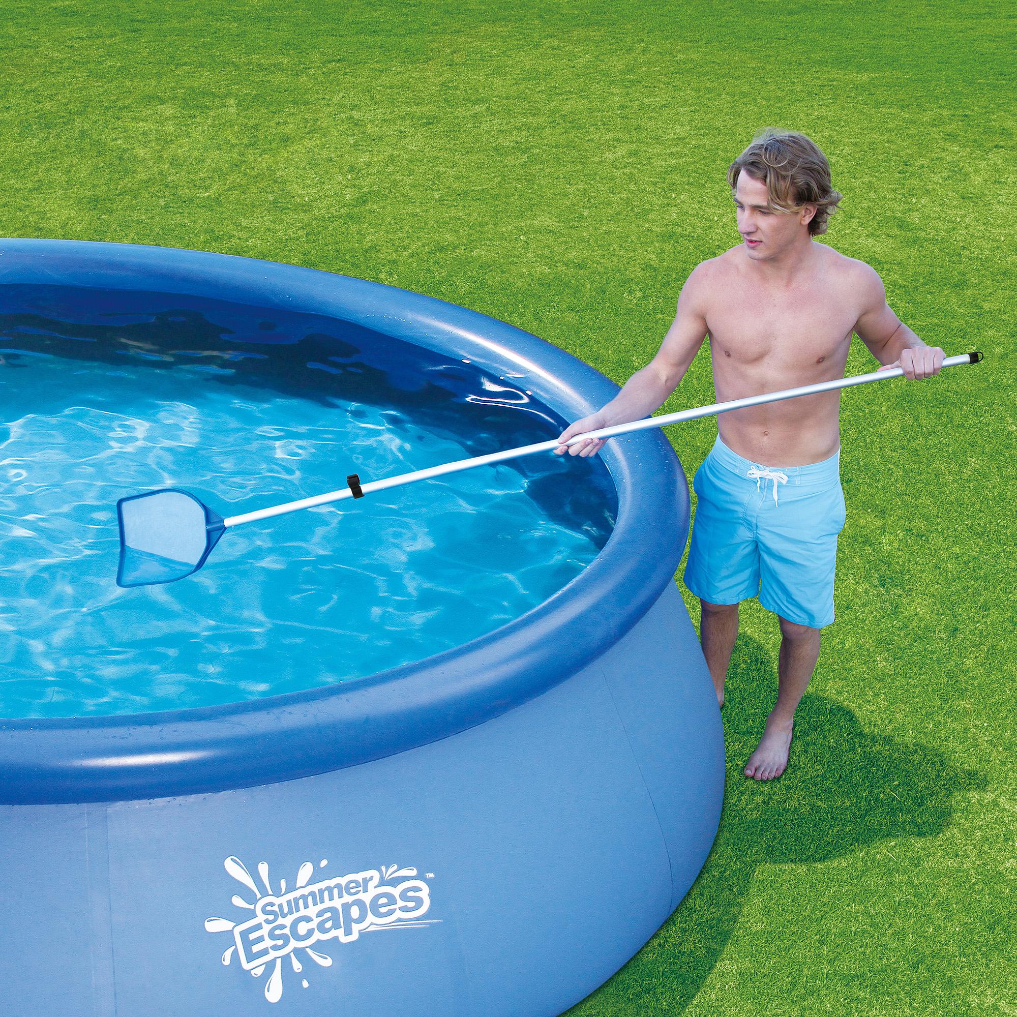 Summer Escapes Pool Maintenance Kit, Silver/Blue