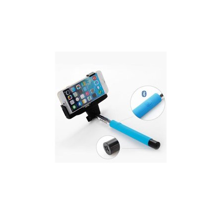 Foldable Monopod Selfie Stick Extendable - Blue