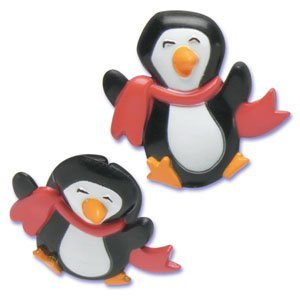 Penguin Plastic Ring - Cake Decoration - Party Favor [Toy] [Toy]
