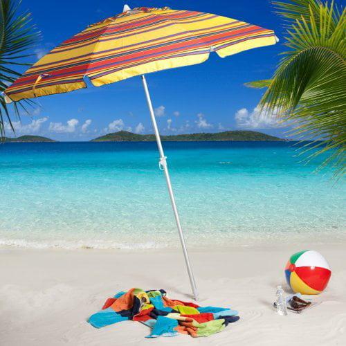 Argentario Stripe Beach Umbrella