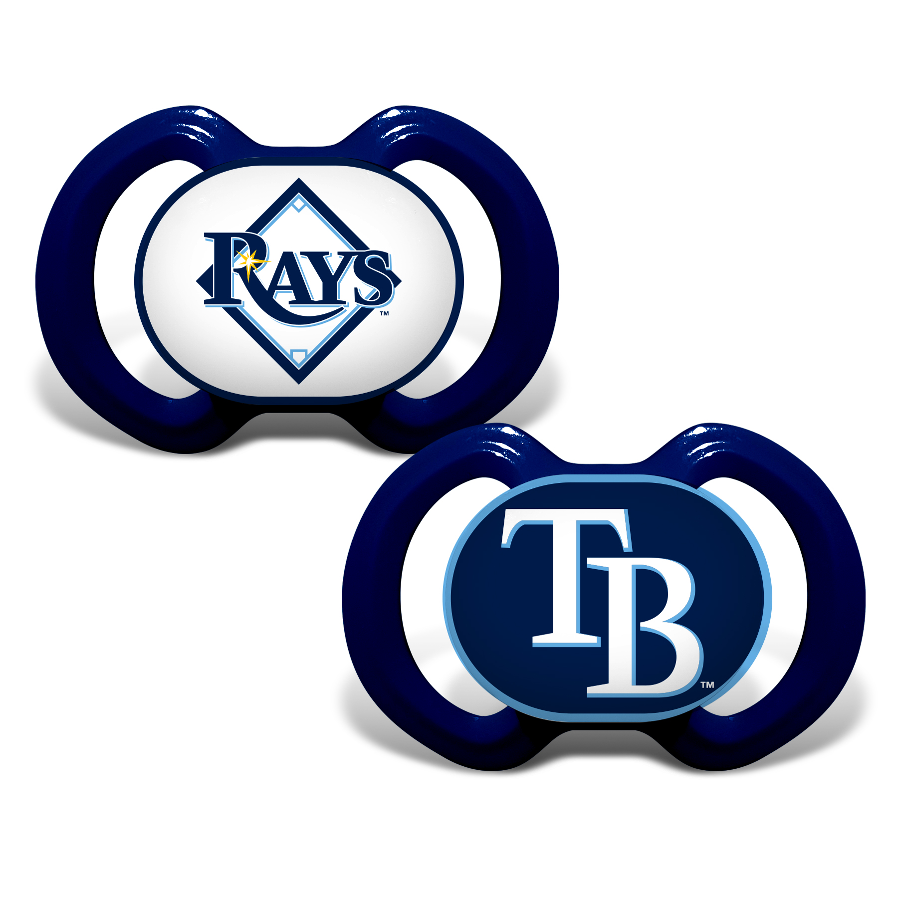MLB Tampa Bay Rays 2-Pack Pacifiers