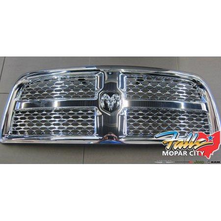 2013-2018 RAM 2500 3500 4500 5500 Chrome Honeycomb Grille And Emblem MOPAR OEM Oem Chrome Grille