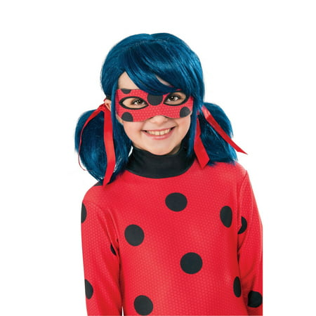 Halloween Miraculous Ladybug Child - Blue Wig Halloween Ideas