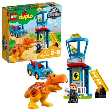 LEGO DUPLO Jurassic World T. rex Tower 10880 - T Rex Model