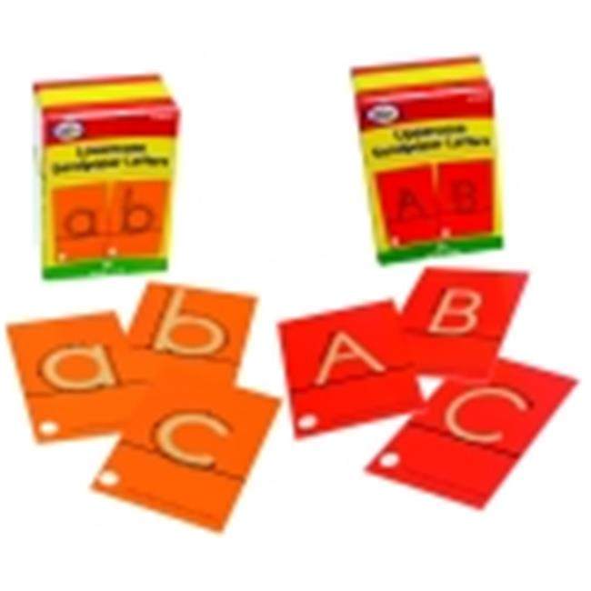 Didax Tactile Sandpaper Upper And Lowercase Letters Cards