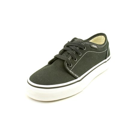 Vans 106 Vulcanized Youth  Round Toe Canvas Black Sneakers for $<!---->