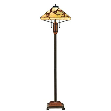 Quoizel Grove Park TF9404M Tiffany Floor Lamp