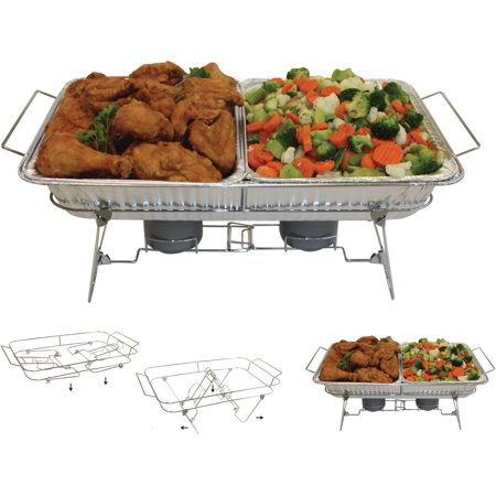 Serve-Rite 8-Piece Fold-A-Way Buffet Set