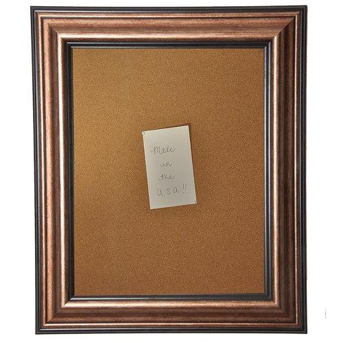 Rayne Mirrors American Made Rayne Canyon Bronze Corkboard