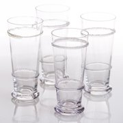 Abigails Lionshead Glass Tumbler - Set of 4