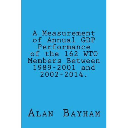 A Measurement of Annual Gdp Performance of the 162 Wto Members: Between 1989-2001 - image 1 of 1