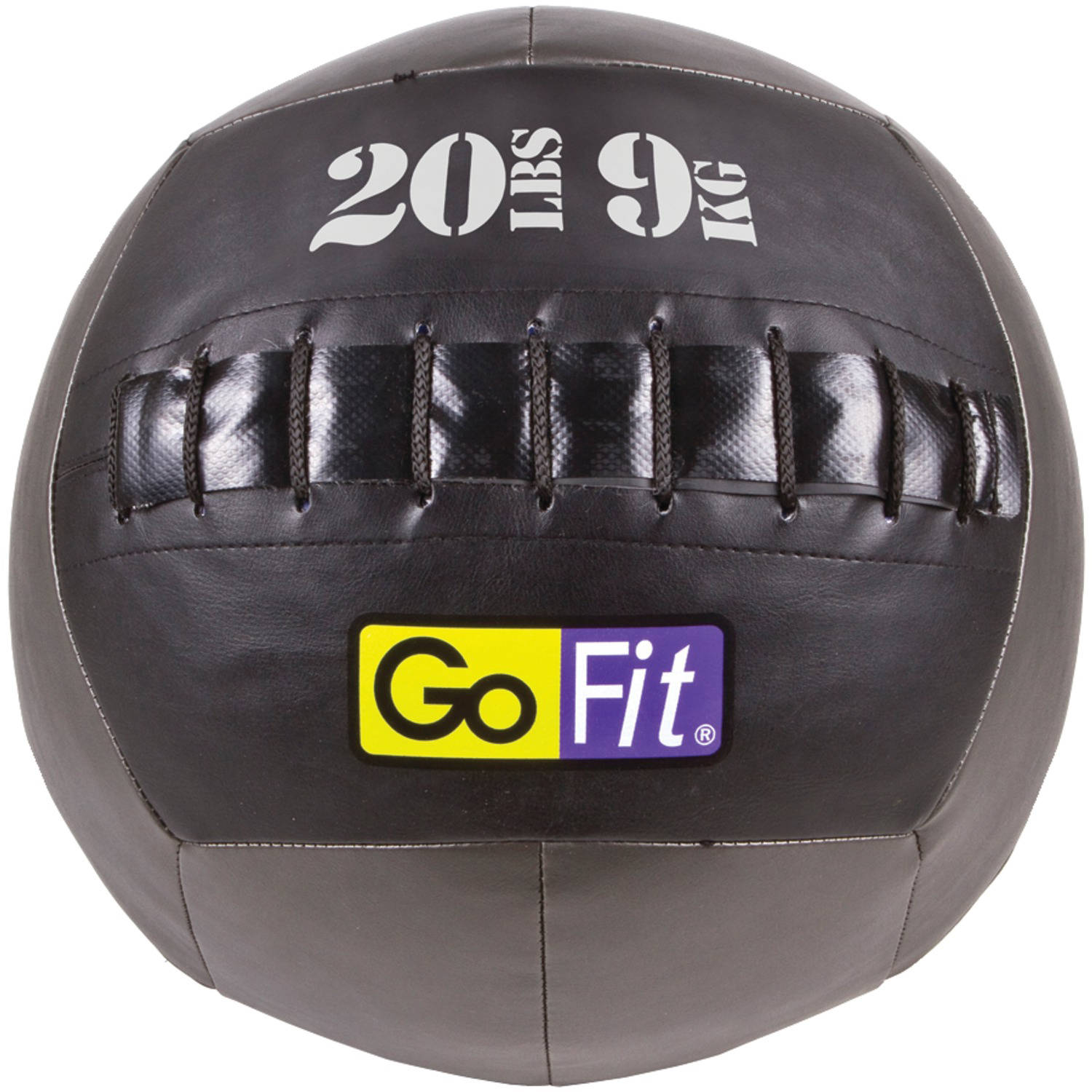 Gofit Gf-Wb20 Wall Ball, 20 Lbs