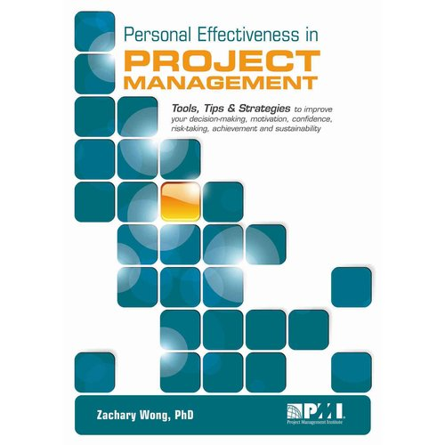Personal Effectiveness in Project Management: Tool, Tips and Strategies to Improve Your Decision-Making, Influence, Motivation, Confidence, Risk-Taking, Achievement and Self-Sustainability