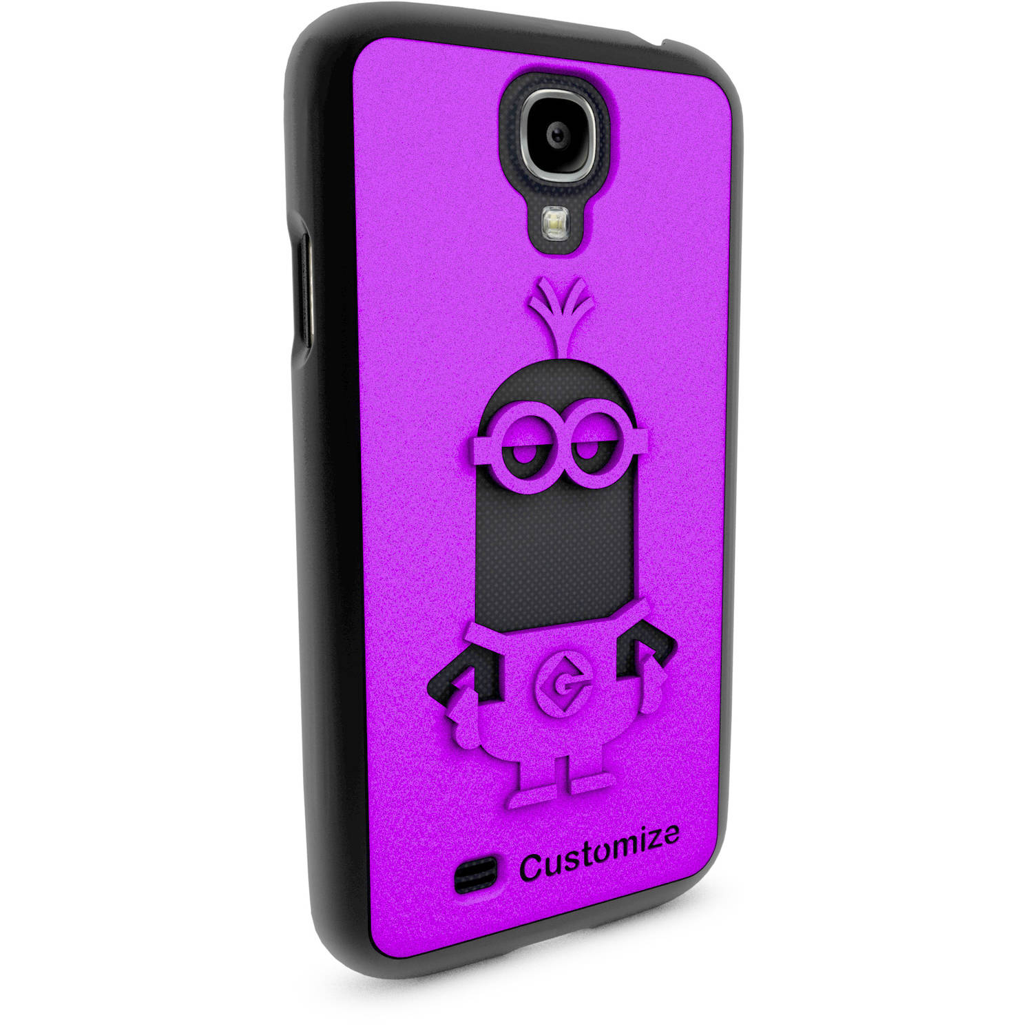Samsung Galaxy S4 3D Printed Custom Phone Case - Despicable Me - Kevin 2