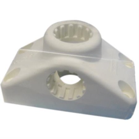 (Scotty 34343 Combination Side / Deck Mount - White)