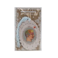 PAPAYA You've Been On My Mind Glitter Love Waves Woman Large Gift Tag 6 Pack