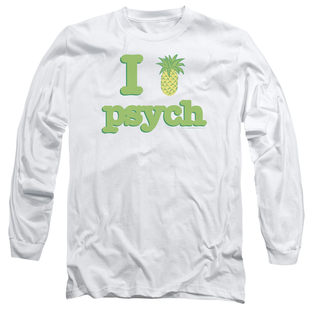 Psych I Like Psych Mens Long Sleeve Shirt