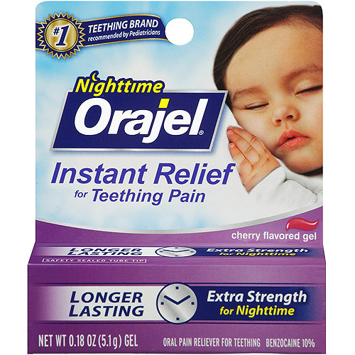 Baby Orajel .36oz Teething Pain Night