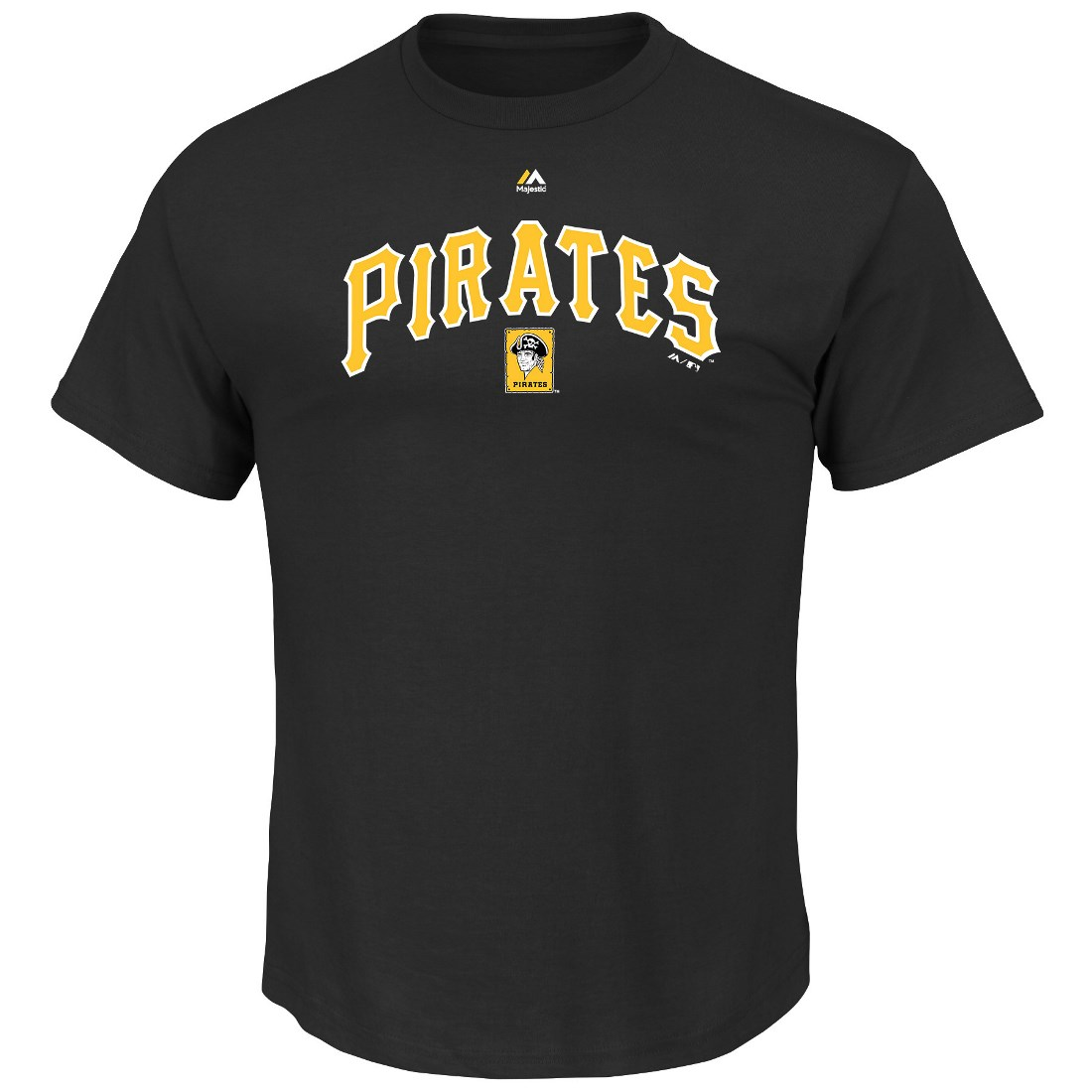 "Pittsburgh Pirates Majestic MLB ""Series Sweep"" Cooperstown Men's S/S T-Shirt"