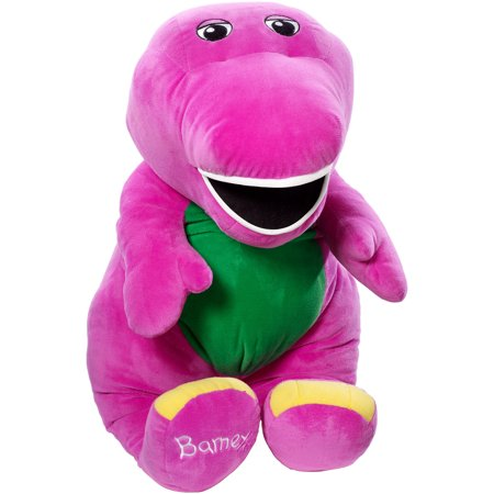 Speak 'n Sing Jumbo Barney The Purple Dinosaur Plush (Horse Jumbo Plush)