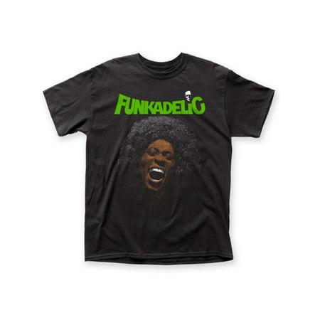 Funkadelic 1970s American Funk Rock Soul Band Free Mind Adult T-Shirt Tee ()