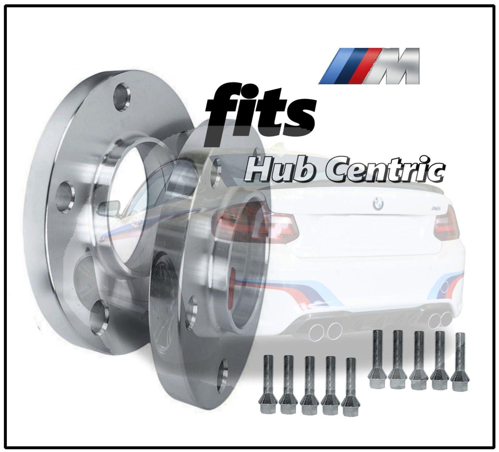 2 Hub Centric Bmw 10 Mm Wheel Spacers Lug Bolts E36 E46 323 325 328 335i 545i Walmart Com Walmart Com