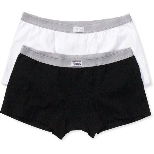72dcf5225304 Hanes - Hanes - Women's Authentic Boxer Briefs, 2-Pack - Walmart.com