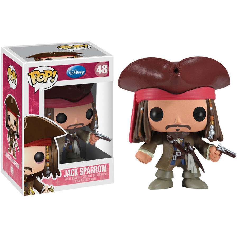 Funko Pop! Disney: Series 4, Jack Sparrow