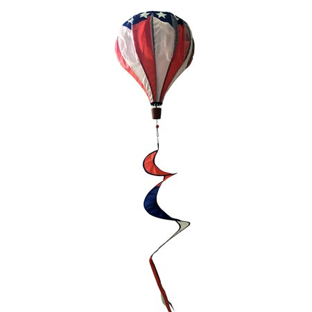 Patriotic Deluxe Hot Air Balloon Wind Twister Everyday 54