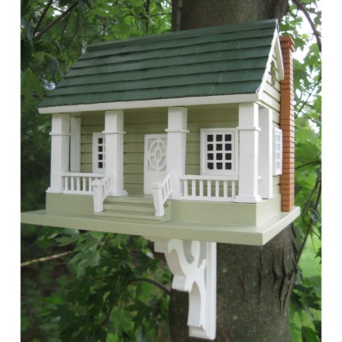 Home Bazaar Classic Series Arts and Crafts 13 in x 12 in x 13 in Birdhouse