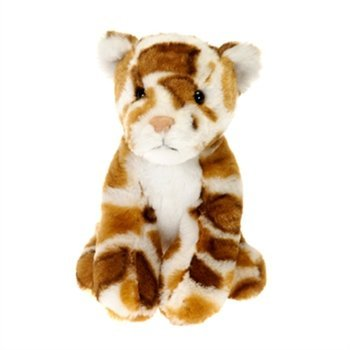 6 Lennox The Leopard Stuffed Animal Beanbag Lil Buddies Toy By