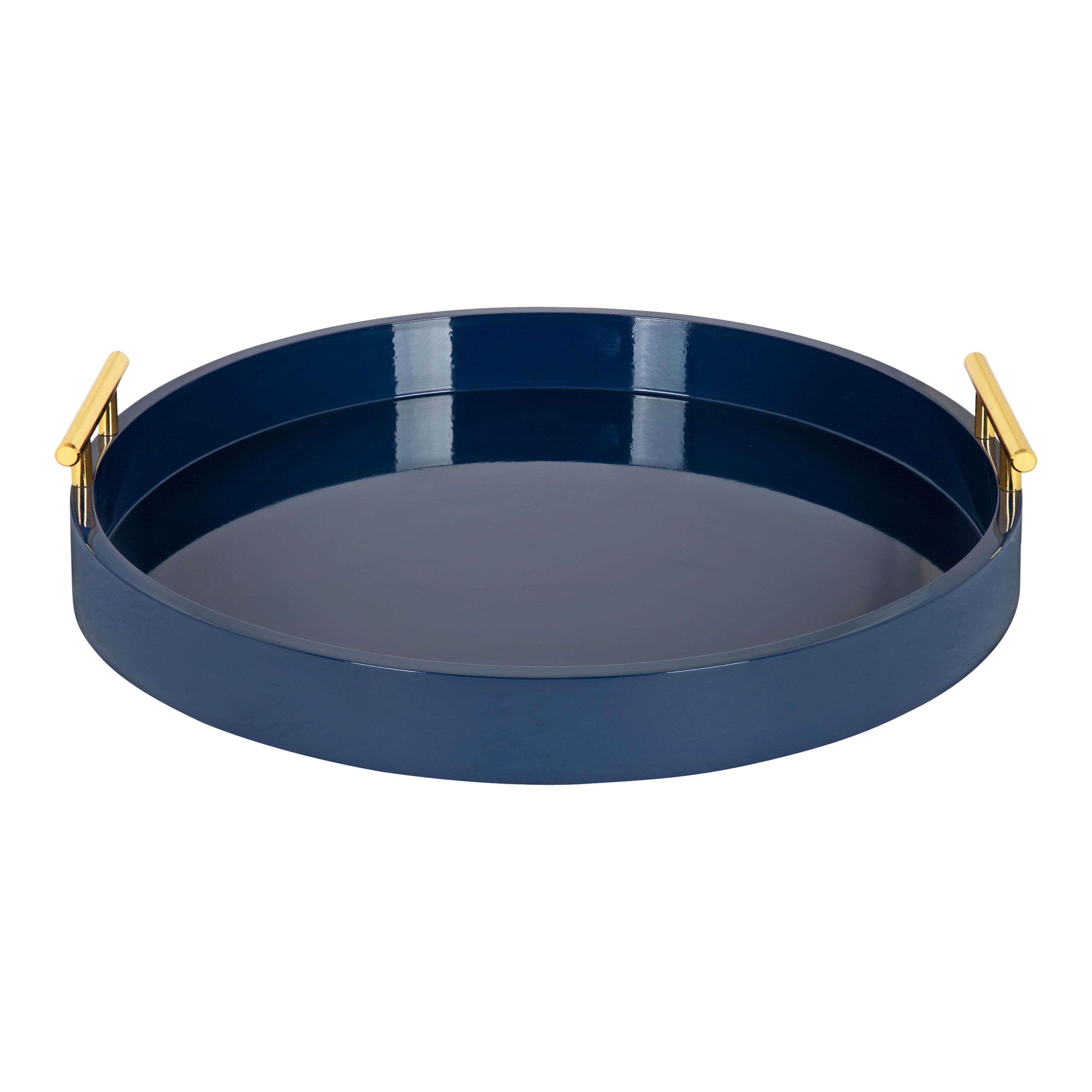 Decorative circular tray