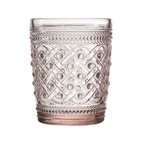 Elle Decor Bistro Ikat Old Fashion Glass Cocktail Glass (Set of 4)