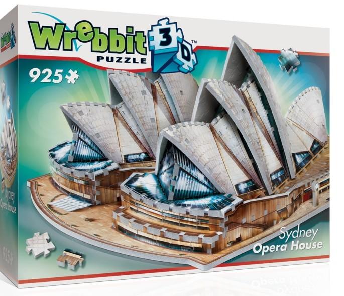 Wrebbit 3D: Sydney Opera House, Australia Foam Puzzle (925pcs) by