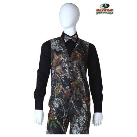 Mossy Oak Camo Tuxedo Vest ()